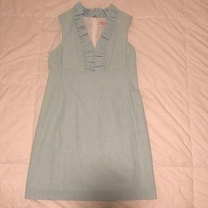 EEUC Lilly Pulitzer Adeline Seersucker Dress, 12